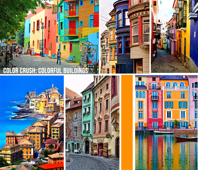 Colorful Buildings: Color Crush: Colorful Buildings