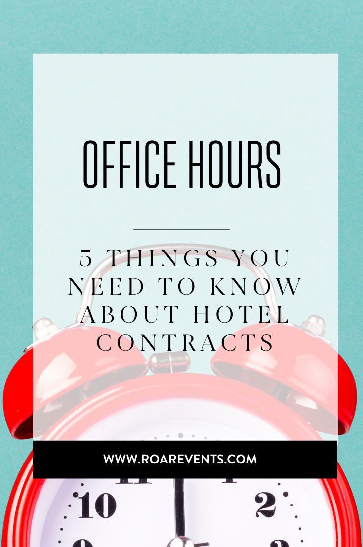 5 Things You need to Know about Hotel Contracts